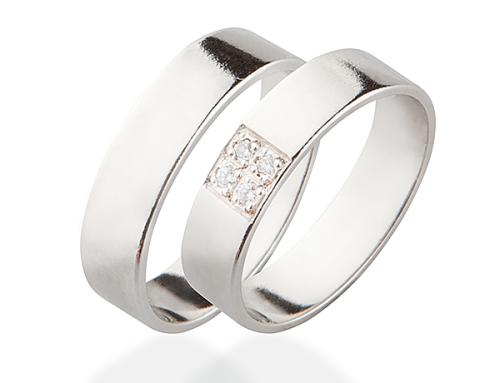 Snubní prsteny VZ018