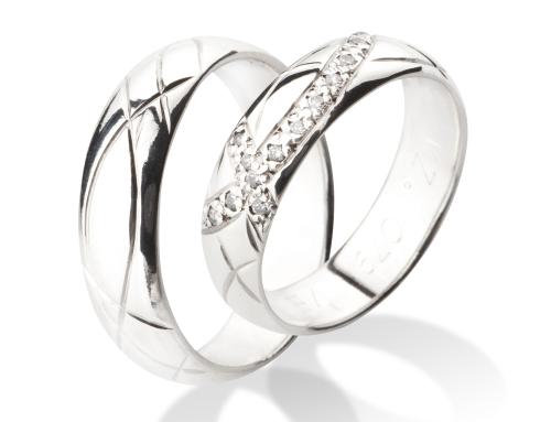 Snubní prsteny VZ079