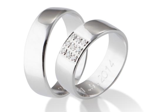 Snubní prsteny VZ207